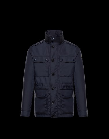 LEZ Dark blue Category Field Jackets Man
