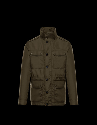 LEZ Military green Category Field Jackets Man