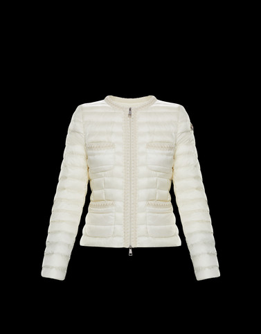 CITRON Ivory Short Down Jackets Woman