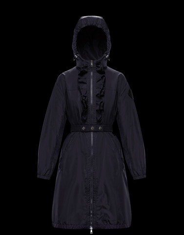 SAUGE Dark blue Category Parka Woman