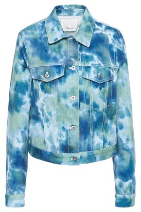 3.1 PHILLIP LIM Tie-dyed denim jacket