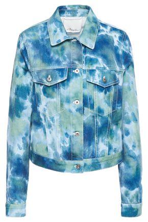 3.1 PHILLIP LIM Tie-dyed denim jacket