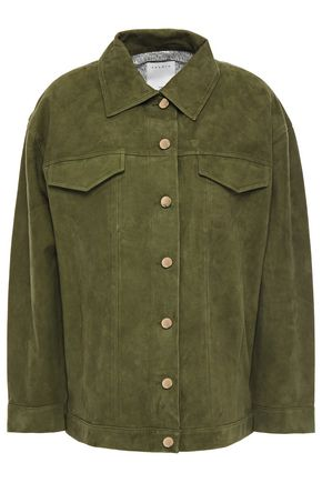 SANDRO Thom suede jacket
