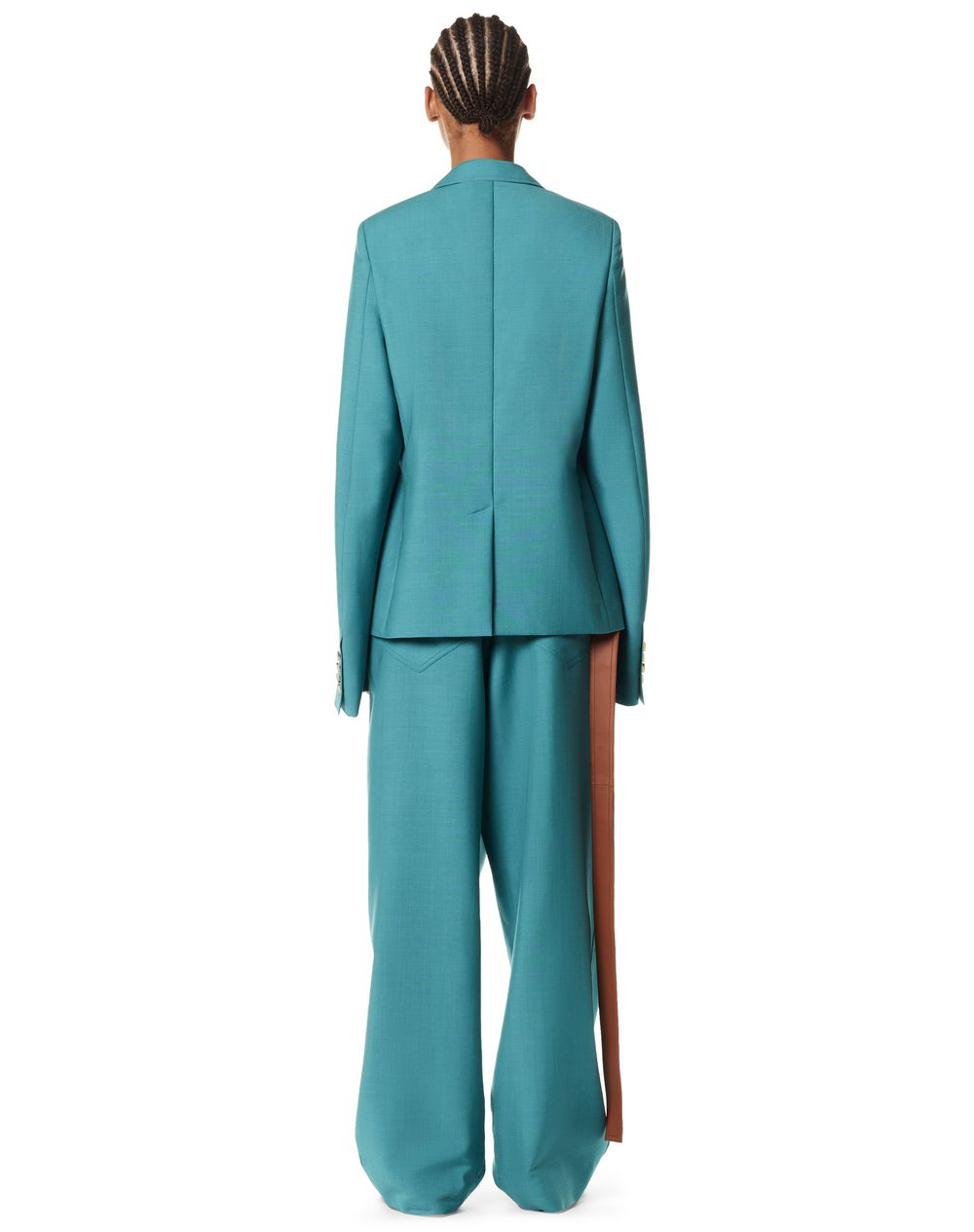 OVERSIZE SLEEVE JACKET IN MOHAIR AND SILK - Lanvin