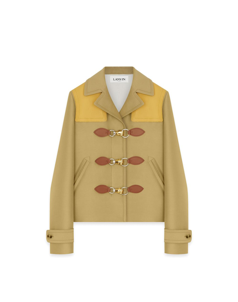 HAND HOOK MILITARY JACKET - Lanvin