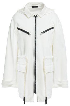 BASSIKE Denim hooded jacket