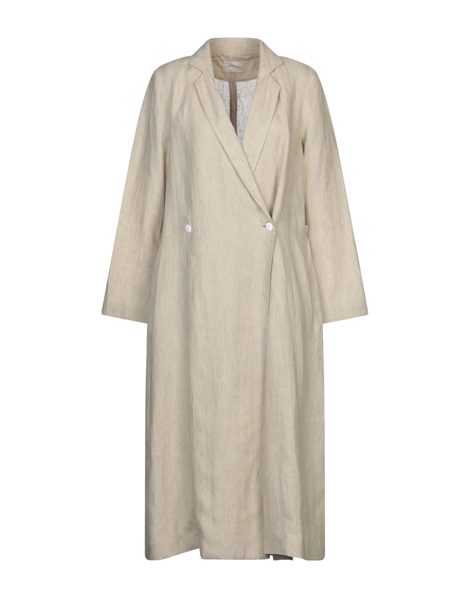SARTORIAL MONK Легкое пальто monk malatesta monk