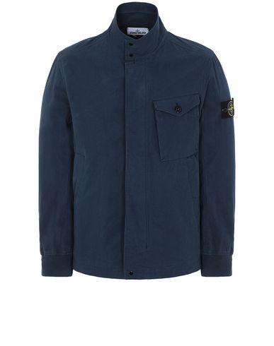 STONE ISLAND 44321 COTTON / CORDURA® Jacket Man Marine Blue USD 398
