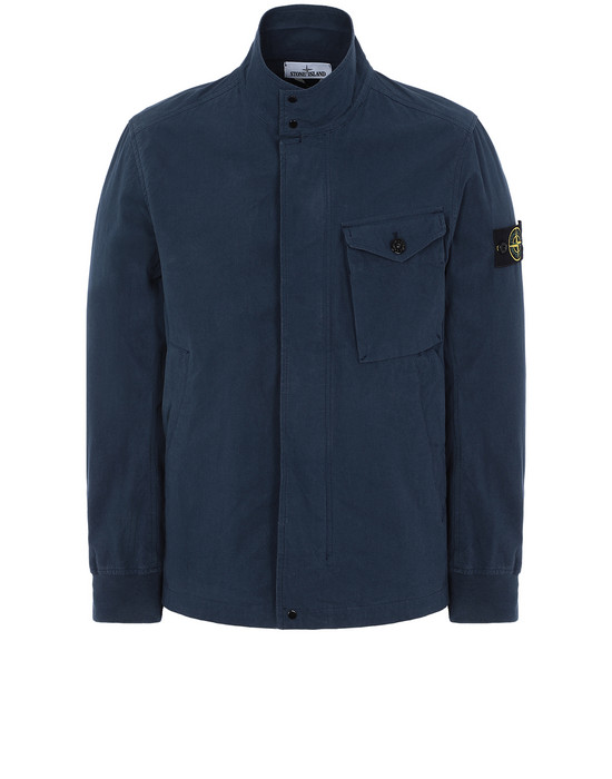 STONE ISLAND 44321 COTTON / CORDURA® Jacket Man Marine Blue