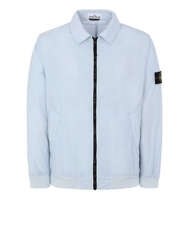 STONE ISLAND 41832 NASLAN LIGHT WATRO  Jacket Man Baby Blue EUR 464