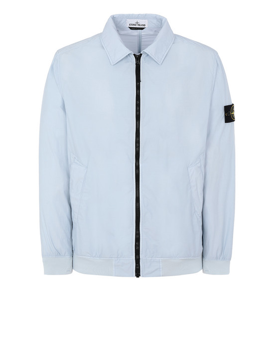 STONE ISLAND 41832 NASLAN LIGHT WATRO  Jacket Man Pale Blue