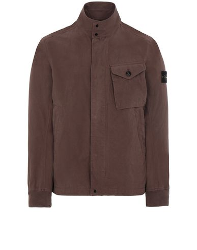 STONE ISLAND 44321 COTTON / CORDURA® Jacket Man MAHOGANY BROWN EUR 525