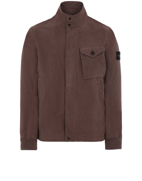 STONE ISLAND 44321 COTTON / CORDURA® Jacket Man MAHOGANY BROWN