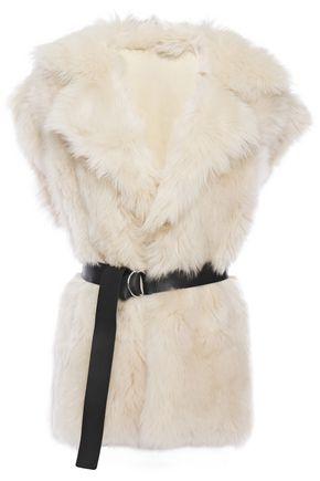 IRO Tozac belted shearling vest