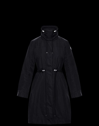 MALACHITE Black Category Raincoats Woman