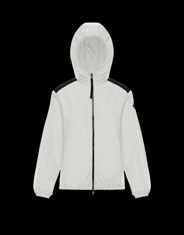 ANTHRACITE White Category Windbreakers Woman