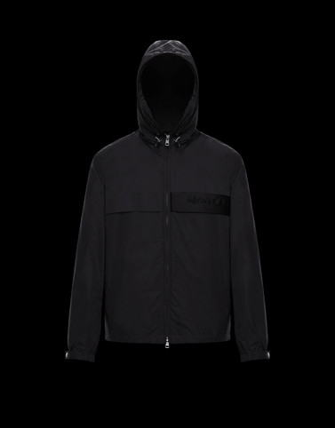 BENOIT Black Category Windbreakers Man