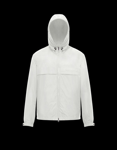 BENOIT White Category Windbreakers Man