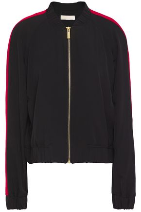 MICHAEL MICHAEL KORS Striped twill bomber jacket