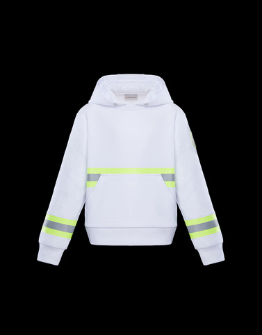 SWEATSHIRT White Kids 4-6 Years - Boy Man