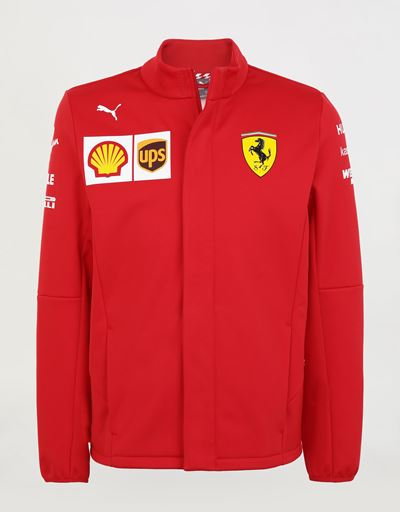 Men's Scuderia Ferrari 2020 Replica team Softshell jacket