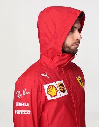 Scuderia Ferrari Online Store - Scuderia Ferrari 2020 Replica men's team jacket - Raincoats