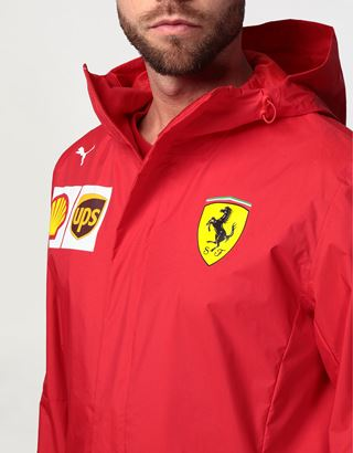 Scuderia Ferrari Online Store - Scuderia Ferrari 2020 Replica men's team jacket - Raincoats