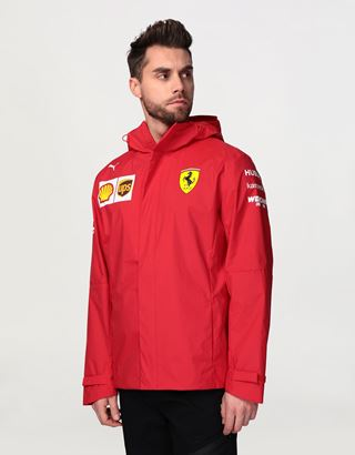 Scuderia Ferrari Online Store - Men's Scuderia Ferrari 2020 Replica team jacket - Raincoats