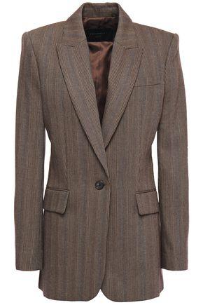 EQUIPMENT Jacque herringbone woven blazer