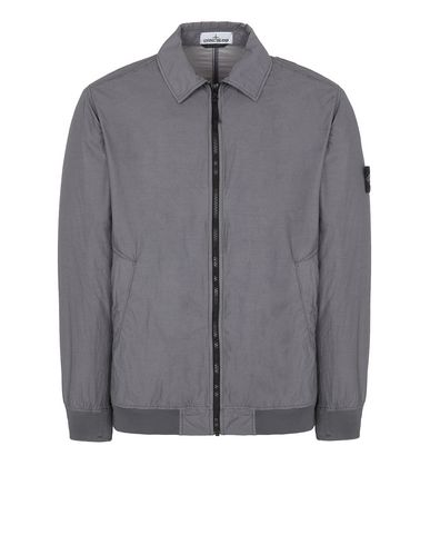 STONE ISLAND 41832 NASLAN LIGHT WATRO Jacket Man Blue Grey EUR 473