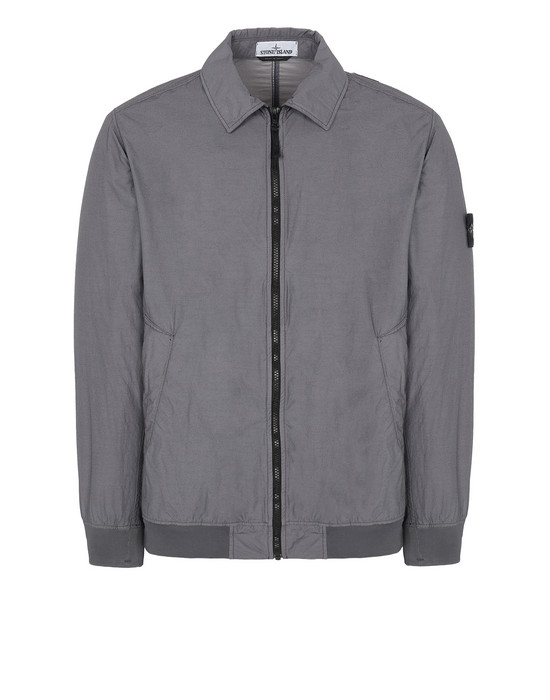 STONE ISLAND 41832 NASLAN LIGHT WATRO Jacket Man Blue Grey