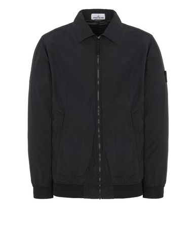 STONE ISLAND 41832 NASLAN LIGHT WATRO  Jacket Man Black USD 663