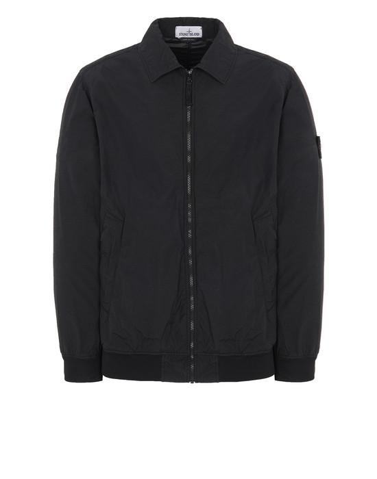 STONE ISLAND 41832 NASLAN LIGHT WATRO  Jacket Man Black