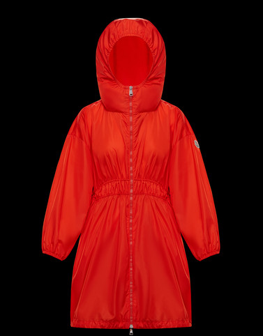 LICHEN Red Category Parka Woman