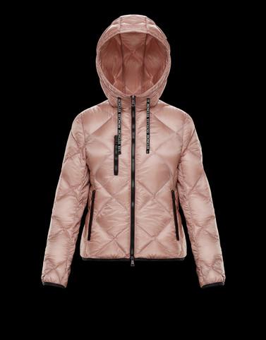 OULX Blush Pink Short Down Jackets Woman