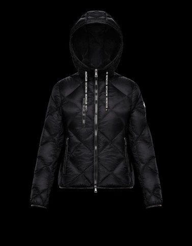 OULX Black Short Down Jackets Woman
