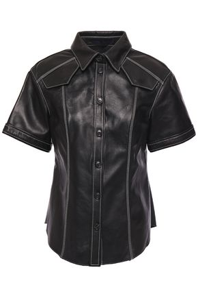 PROENZA SCHOULER Leather shirt
