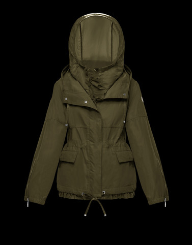 TABAC Military green Category Overcoats Woman