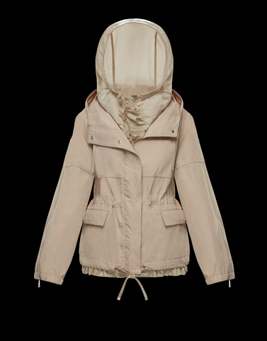 TABAC Beige Jackets Woman