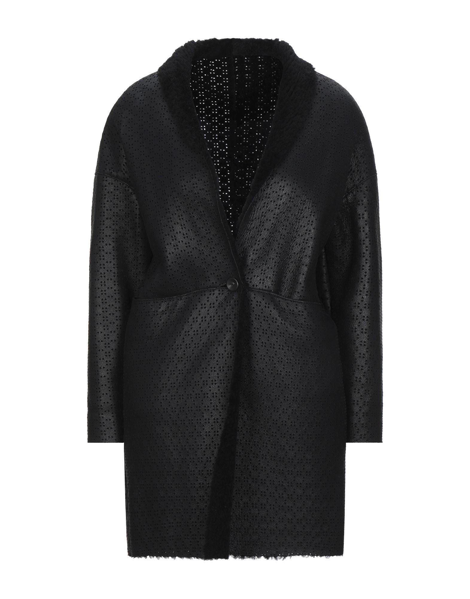 《セール開催中》VINTAGE DE LUXE レディース コート ブラック 42 革