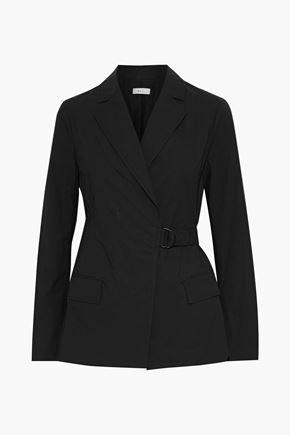 A.L.C. Ridley belted cotton-blend blazer