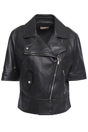 MICHAEL KORS COLLECTION Leather biker jacket