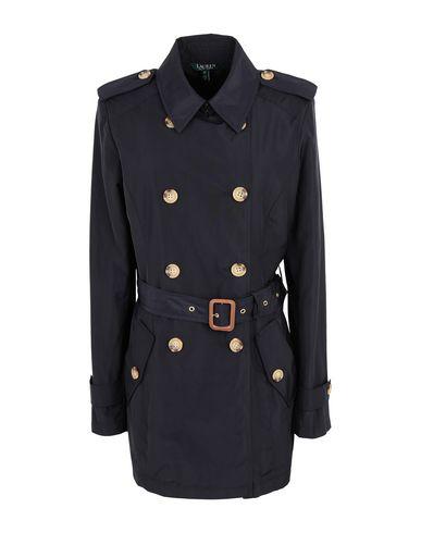 Фото - Легкое пальто от LAUREN RALPH LAUREN темно-синего цвета
