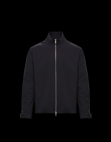 VINCIN Black Category Windbreakers Man