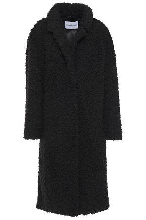 STAND STUDIO Marianne faux shearling coat