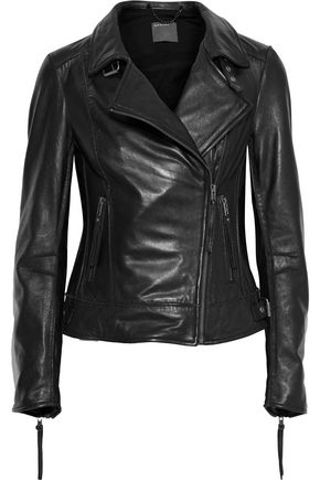 MUUBAA Keeley leather biker jacket