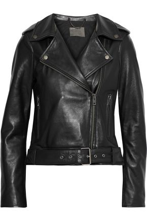 MUUBAA Cordilleran leather biker jacket