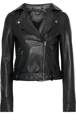 MUUBAA Manning leather biker jacket
