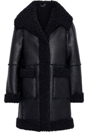 ELIE TAHARI Rosie faux shearling coat