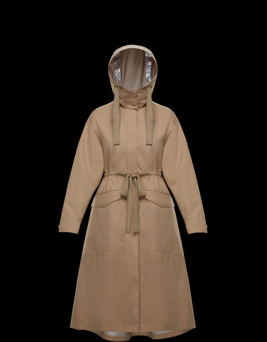 MOUTARDE Light brown Coats & Trench Coats Woman